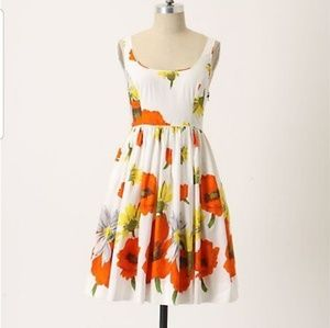 Homegrown poppy dress by moulinette soeurs